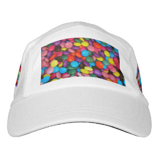Candy cased choclate buttons Texture Template Headsweats Hat