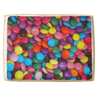 Candy cased choclate buttons Texture Template Jumbo Shortbread Cookie