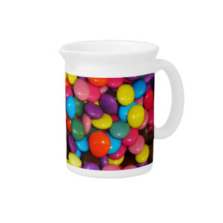Candy cased choclate buttons Texture Template Pitcher