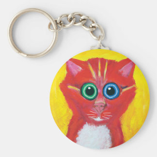 Candy Cat Keychain