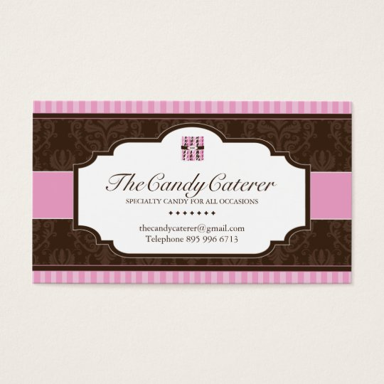 Candy Caterer Business Card