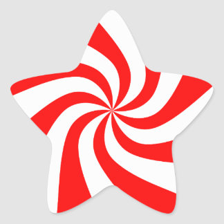 Candy Christmas Images Star Sticker