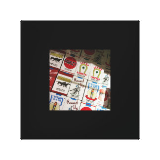 candy cigarettes canvas print