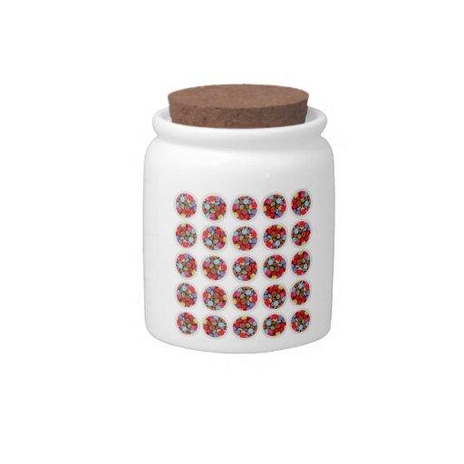 candy circle candy jar