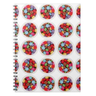 candy circle notebook