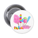 Candy Circus 2 Inch Round Button
