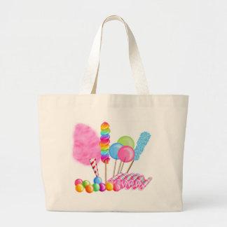 Candy Circus Jumbo Tote Bag