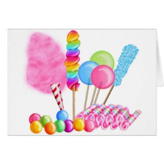 Candy Circus Card
