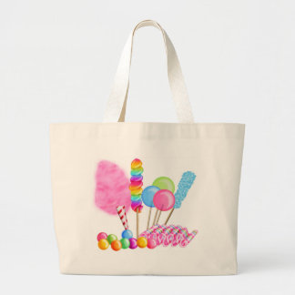 Candy Circus Large Tote Bag