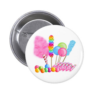 Candy Circus Pinback Button