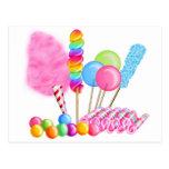 Candy Circus Postcard