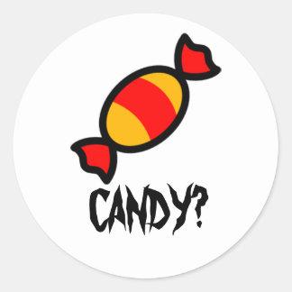 Candy Classic Round Sticker