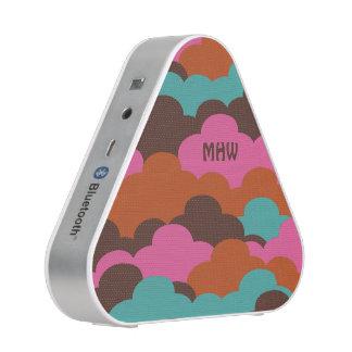 Candy Clouds custom monogram bluetooth speaker