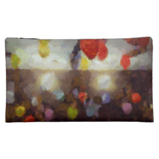 Candy clouds hovering overhead cosmetics bags