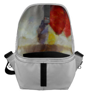 Candy clouds hovering overhead courier bags