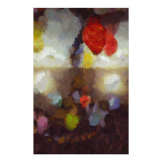 Candy clouds hovering overhead stationery