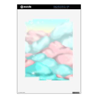 Candy Clouds iPad 2 Decal