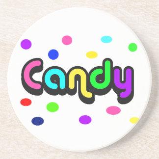 Candy-coaster Beverage Coaster