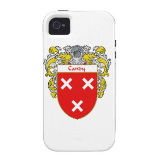 Candy Coat of Arms Family Crest Vibe iPhone 4 Cover