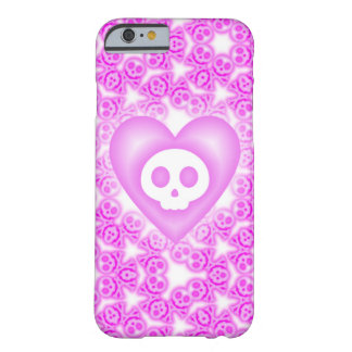 Candy Coated Pink Heart and Skull