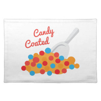 Candy Coated Cloth Place Mat