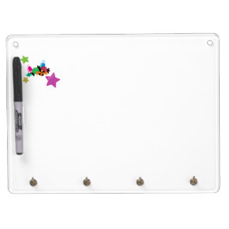 Candy Collage Halloween Design Dry Erase Board With Keychain Holder