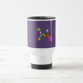 Candy Collage Halloween Design Travel Mug