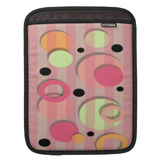 Candy Color Circles iPad Case