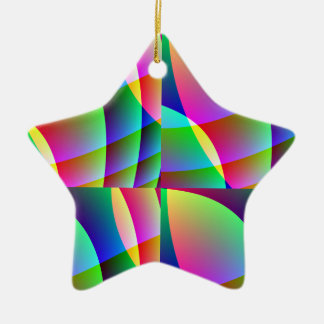 Candy-Colored Star Ornament