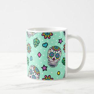Candy Colorful Sugar Skull Coffee Mug