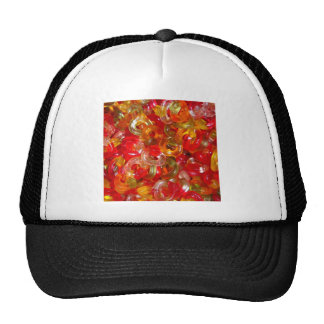 Candy Colorful Sweets Party Birthday Shower Art Trucker Hats