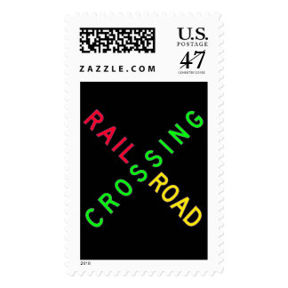 Candy Colors Crossbuck Postage