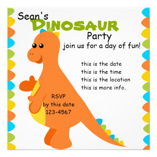 Candy Colors Dino Announcements