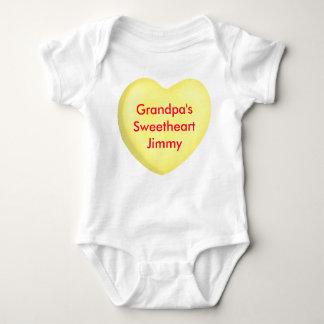 Candy Conversation Hearts Custom Infant Creeper