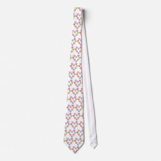 Candy Conversation Hearts Gifts and Apparel Tie
