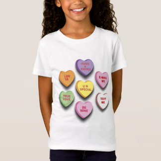 Candy Conversation Hearts Shirt