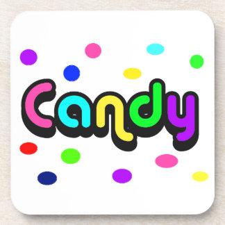 Candy-cork coaster