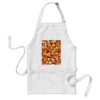 Candy Corn Adult Apron