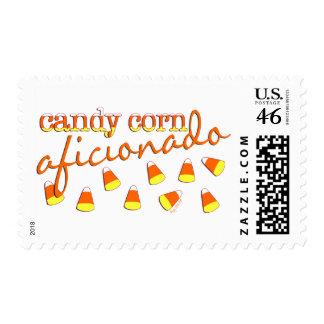 Candy Corn Aficionado Postage Stamps