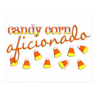 Candy Corn Aficionado Postcard