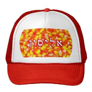 Candy Corn Alison, Allison, Alyson Trucker Hat