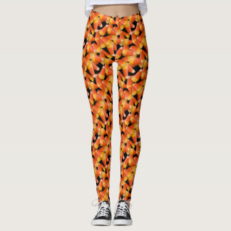 Candy Corn All Over Print Leggings