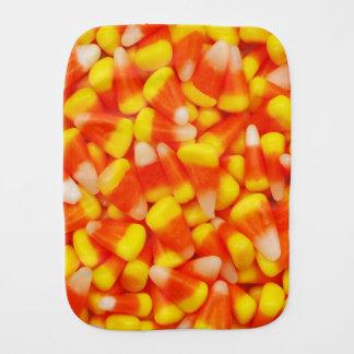 Candy Corn Baby Burp Cloth