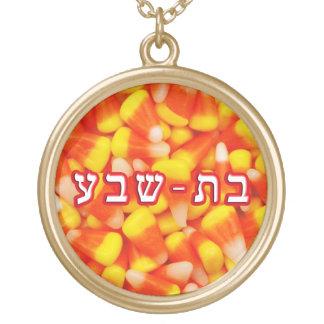 Candy Corn Batsheva Gold Plated Necklace