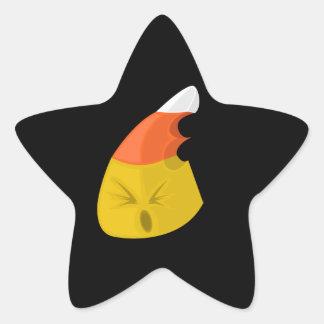 Candy Corn - Bite Star Sticker