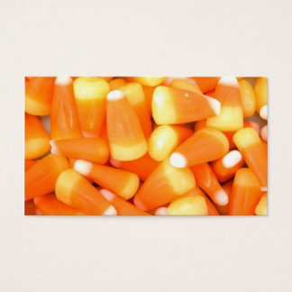 Candy Corn Business Card