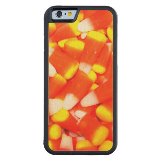 Candy Corn Carved Maple iPhone 6 Bumper Case