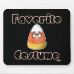 Candy Corn Character Favorite Costume Mouse Pad