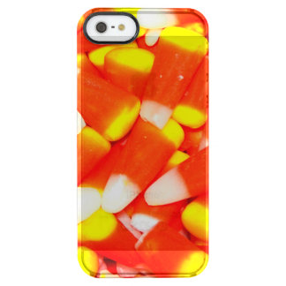 Candy Corn Clear iPhone SE/5/5s Case