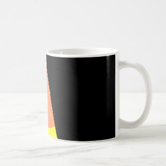 candy corn coffee mug